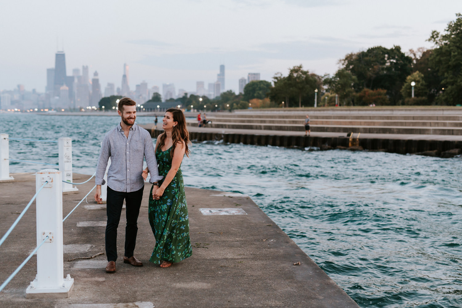 chicago wedding photography, engagement session