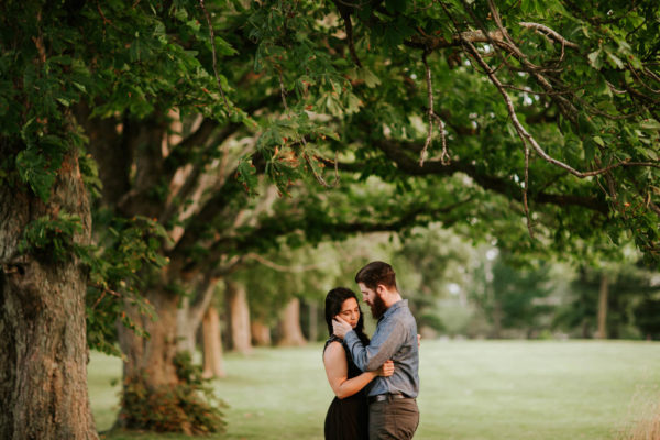 Chicago Engagement Photographer | St. James Farm