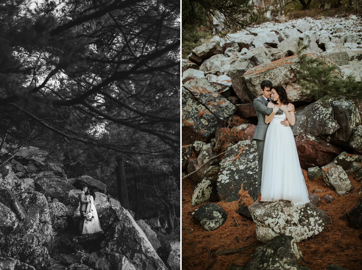 devil's lake state park wedding photographer