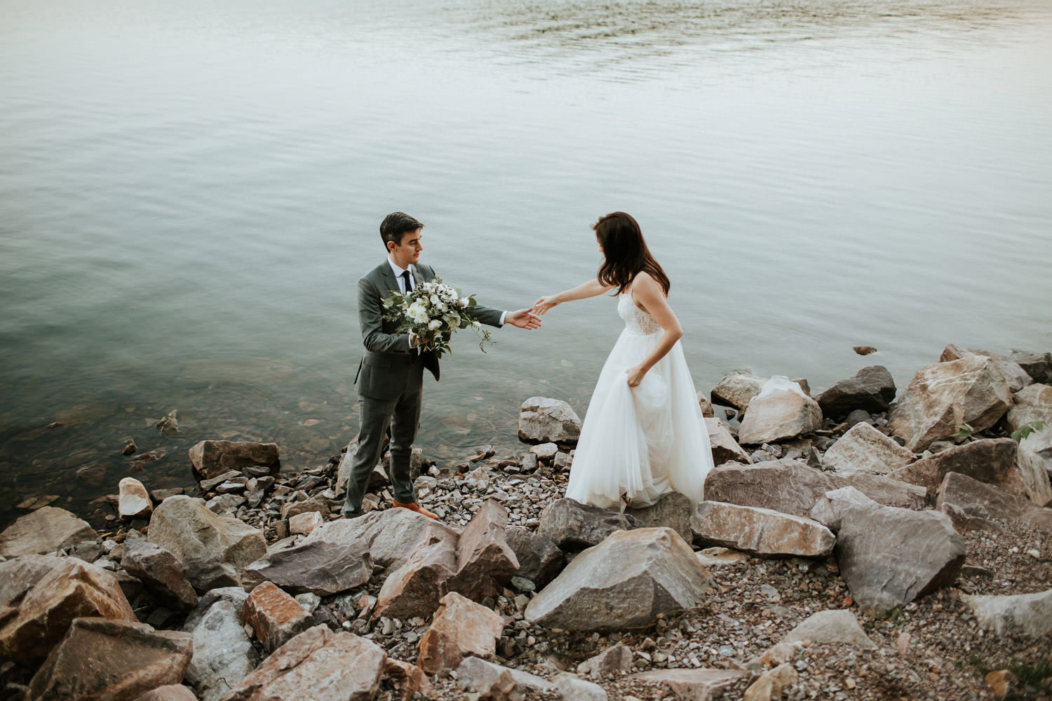 devil's lake state park wedding photogrpaher