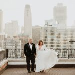 Chicago winter elopement photographer