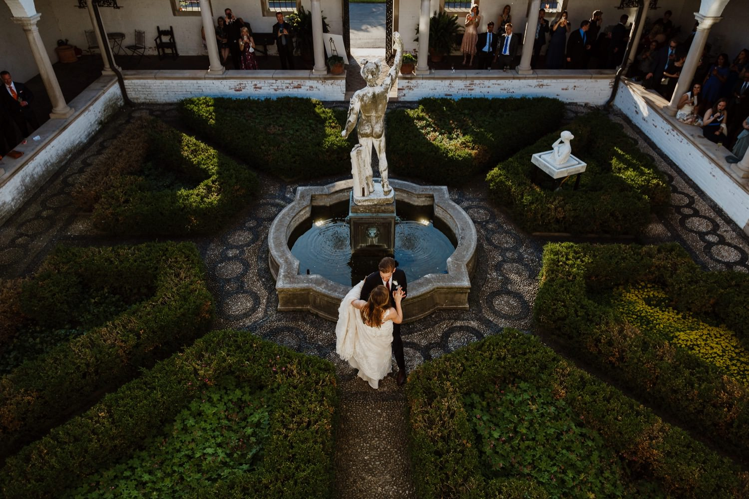 Villa Terrace Wedding Photographer