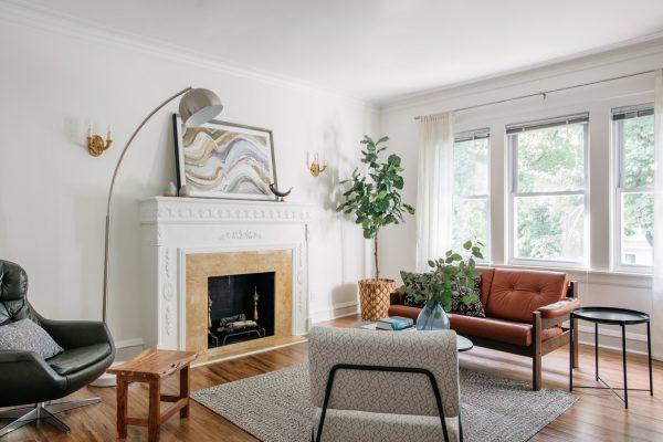 Chicago Interior Photographer | Portage Park Apartment