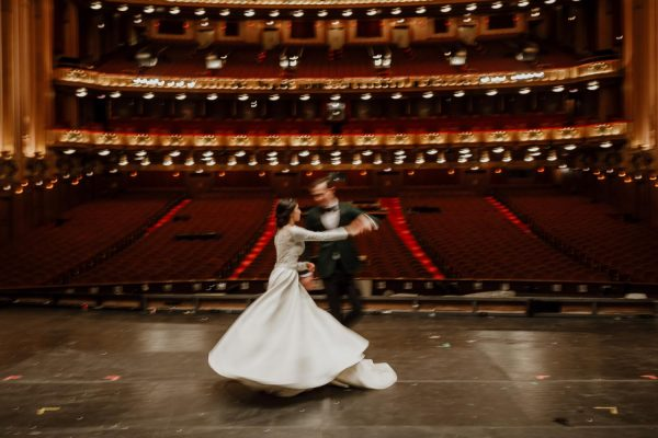 Lyric Opera Wedding Photographer | Chicago, IL