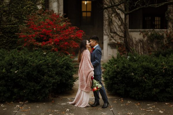 University of Chicago Elopement Photography | Stacey + Jason