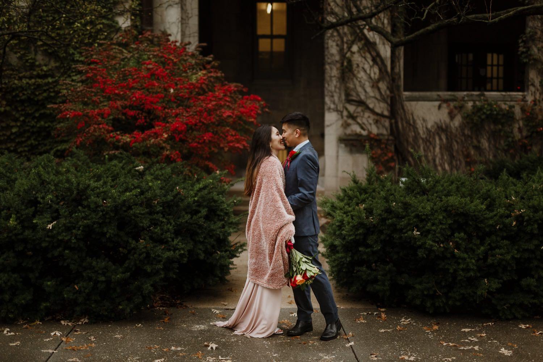 University of Chicago wedding photographer