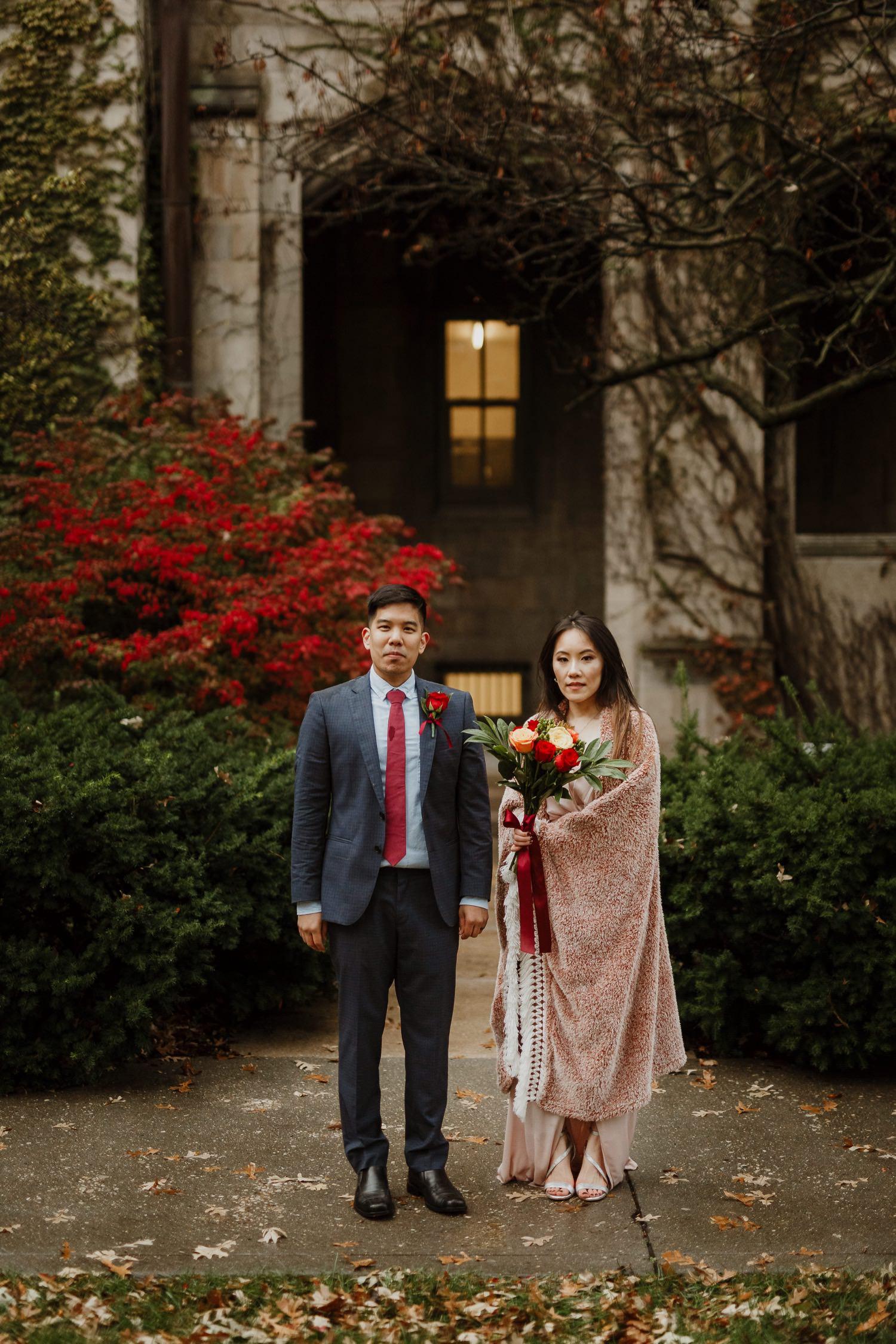 University of Chicago elopement photographer