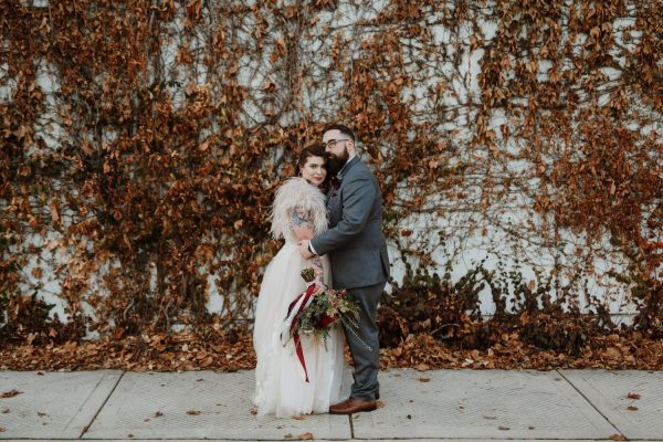Chicago Winter Wedding at Gallery 1028 | Whitney and Justin